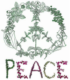 herbalist for peace logotype